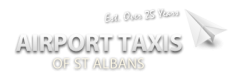 An image of the Airport Taxis logo.